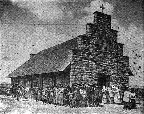 Dedication of the Church at Lukachukai, 1912.