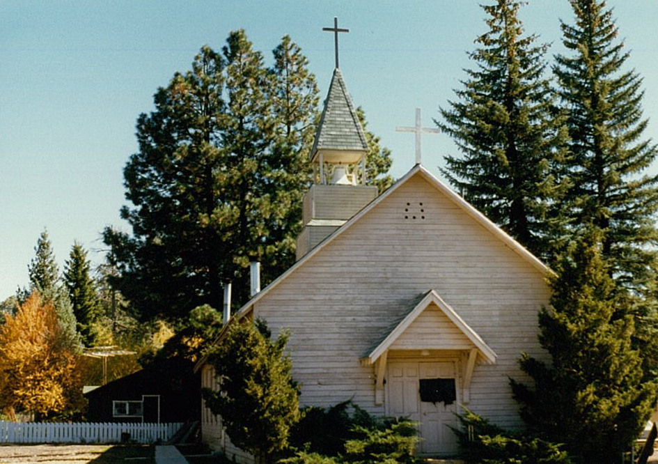 The current church at McNary.