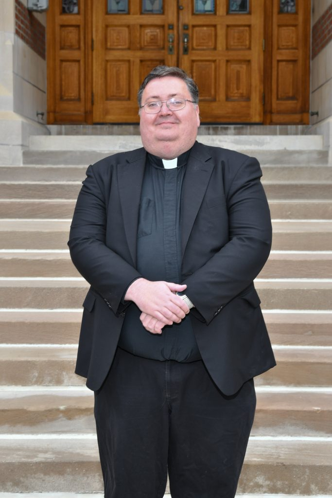 Deacon Robert Badger, soon to be the Diocese's newest priest.