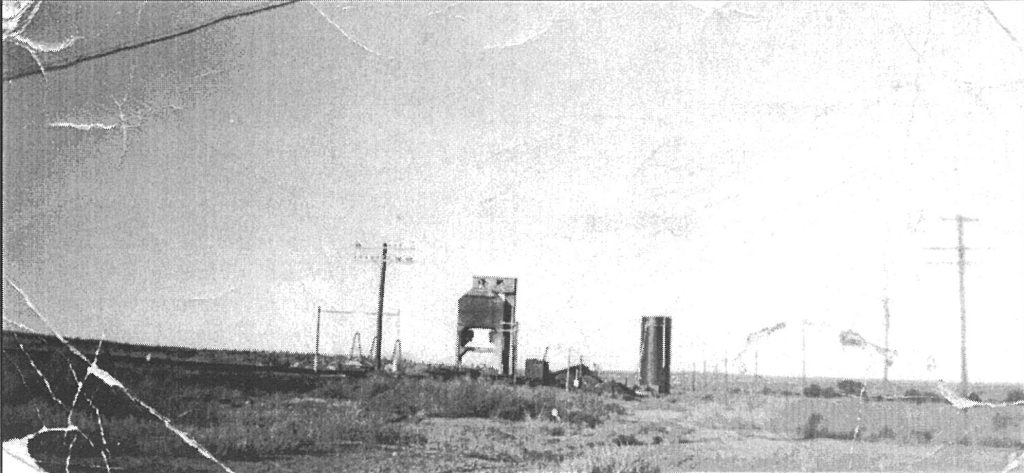 The Silica Sand Plant in the early days.