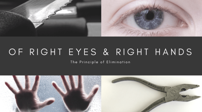 Of Right Eyes and Right Hands