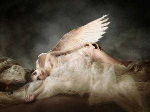 Fallen Angel  By: Patrizia Burra