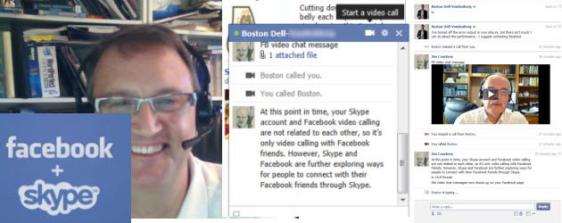 Facebook Video Chat – Powered by Skype: First Impressions