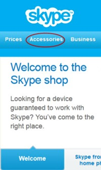 SkypeShop.Welcome