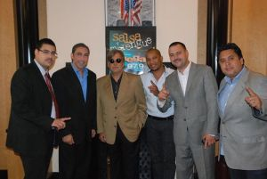 Raul Alarcon with NY team Jesus Salas