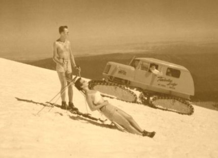 Vintage_Snow_Cat_Mt_Hood_with_Snow_Bunny