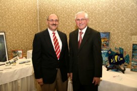 Dr. Akright & Mike Burke