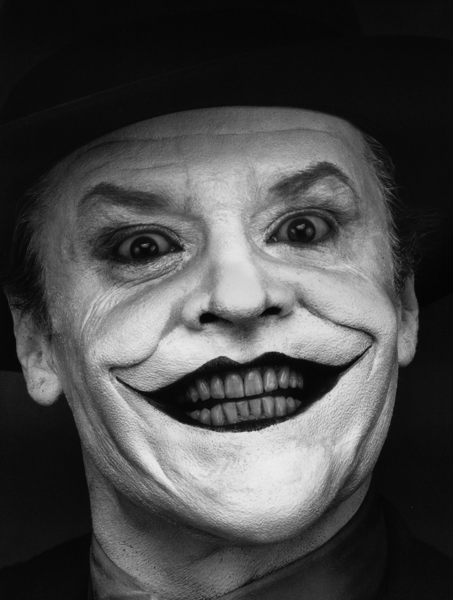Jack Nicholson As Joker By Herb Ritts, 1989