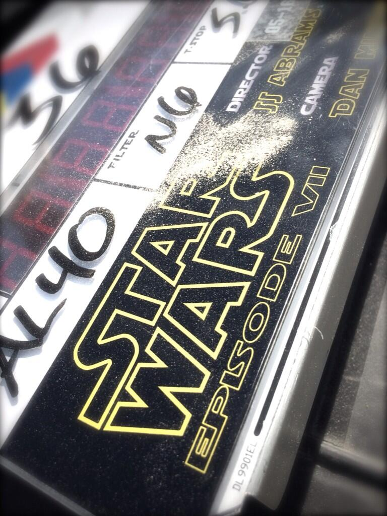 Star Wars Episode 7 Slate