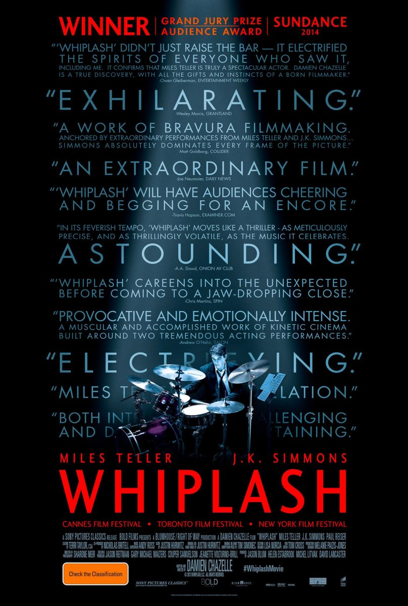 Whiplash High-Octane, Gasoline & Blood Drenched  Passion On Display The Voices Review