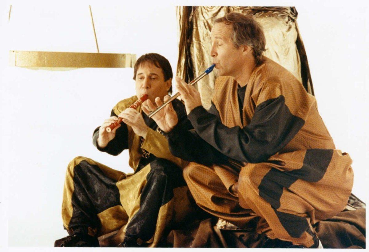 Paul Simon & Chevy Chase