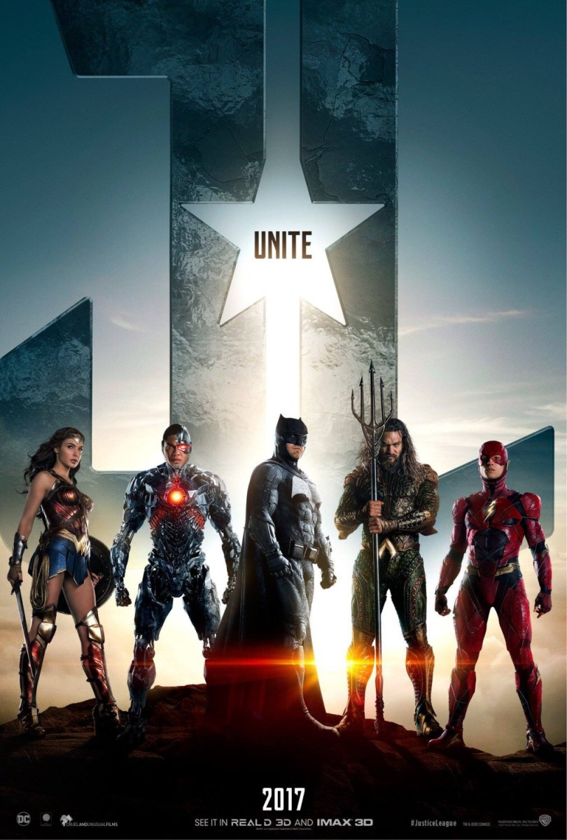 Justice League Official Trailer 1 Unite The League Teasers & Justice League Key Art