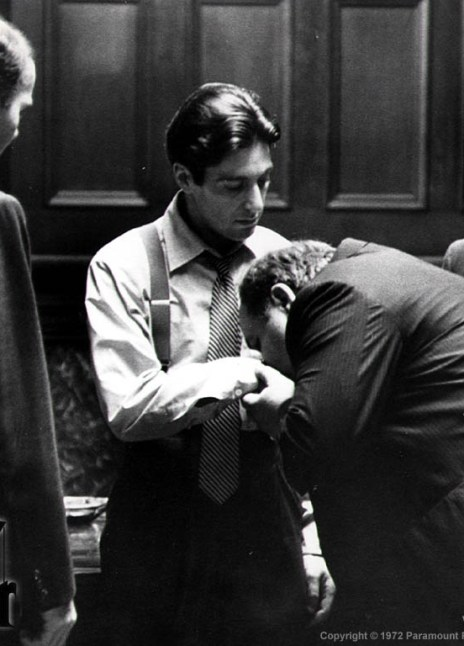 Francis Ford Coppola Robert De Niro Diane Keaton Al Pacino James Caan Talia Shire Robert Duvall The Godfather 45th Anniversary Reunion
