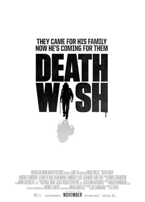 Bruce Willis In Eli Roth's Remake Of Death Wish