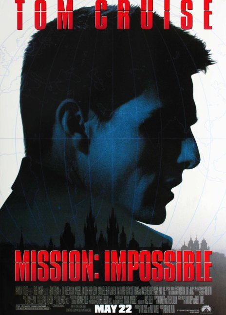 Brian De Palma's  Mission: Impossible, 1996  1080p Blu-ray V 4K UHD