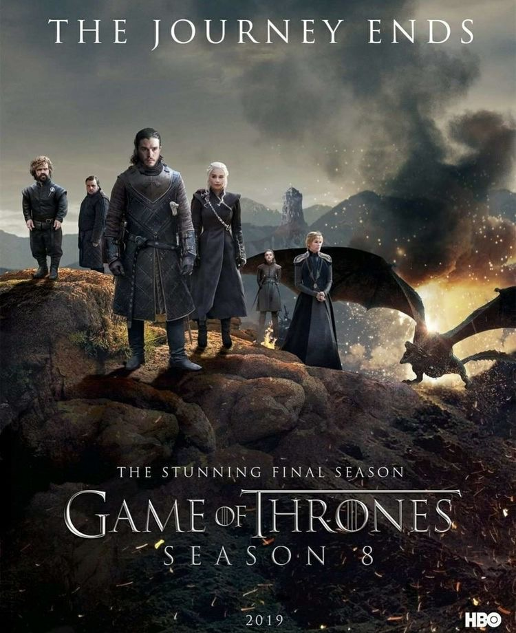 Game Of Thrones Season 8 #GameOfThones  #GameOfThrones8 #GOT   #GoTS8   #ForTheThrone