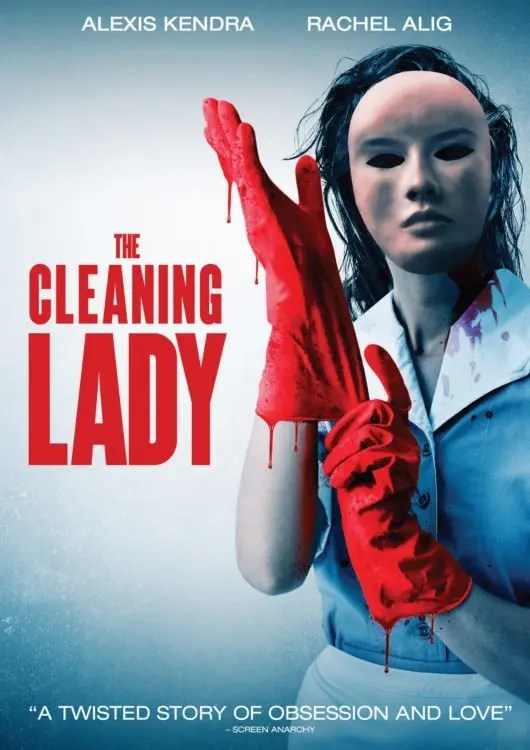 cleaning lady DVD_HIC