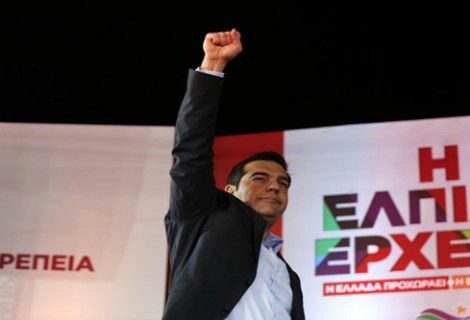 Greece New Left Government
