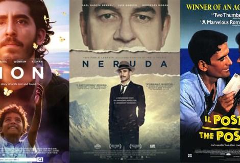 Voices Radio: Film Reviews of Lion, Neruda, and Il Postino