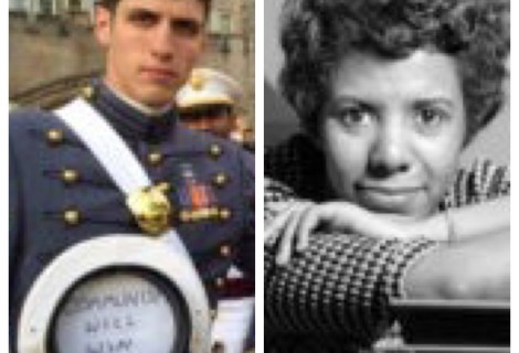 """Voices Radio: Eric talks about Spencer Rapone, a 26 year-old West-Point cadet, who was aptly nicknamed, """"The Commie Cadet"""", as well as visionary, artist, rebel, and activist Lorraine Hansberry – June 19, 2018."""