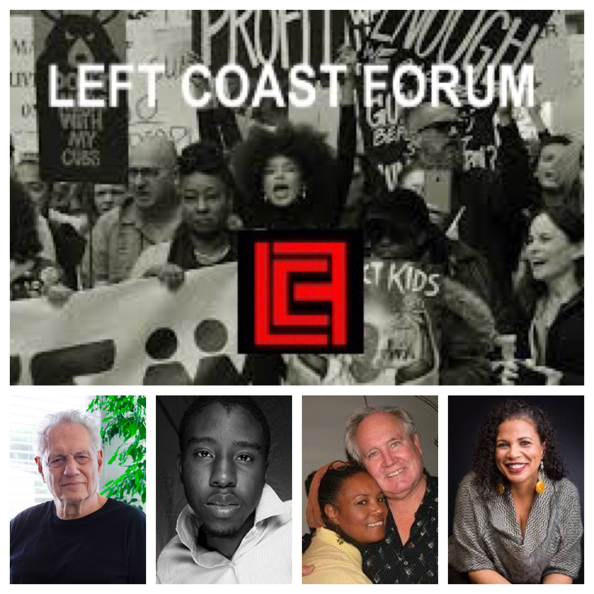 Voices Radio – Eric and Channing talks with the lead organizers of the Left Coast Forum, Dick Price and Sharon Kyle, along with Chair of the Pan African American Studies department at Cal State LA, and BLM-LA organizer, Melina Abdullah.