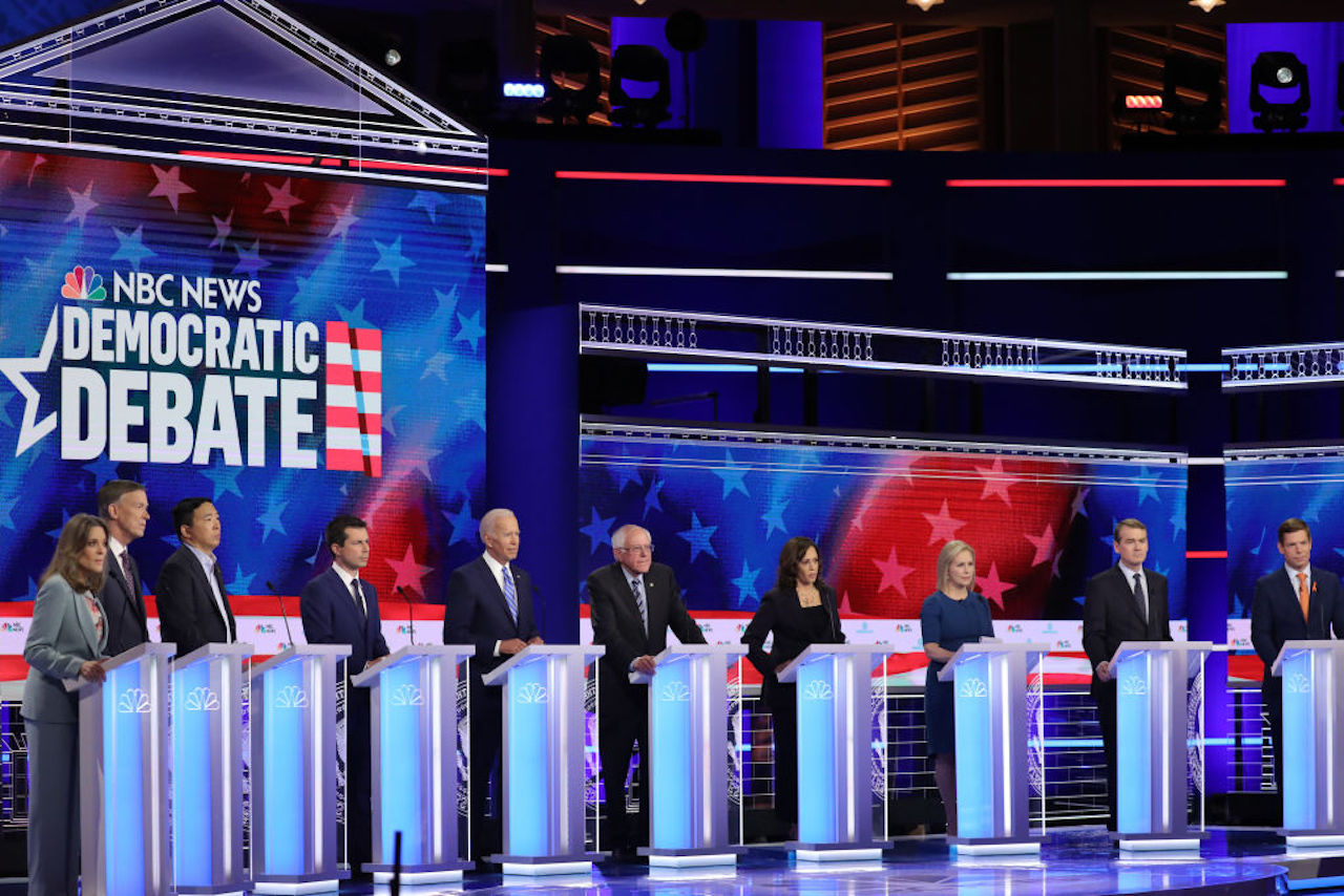 Voices Radio: Snapshots from the (Un) Democratic Debates