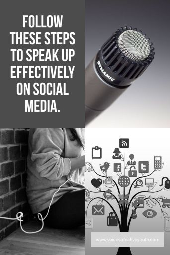 If you have something important to say, you might want to learn how to speak up effectively in ways that don't offend and win people over to your side. #ownvoices #socialjustice #outspoken #speakup #nativeyouth #nativeamerican