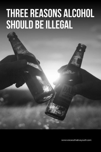 Adults make laws, but this young woman has a valid question about why alcohol is legal. She give three reasons why it should be illegal. #alcohol #alcoholic #drinking