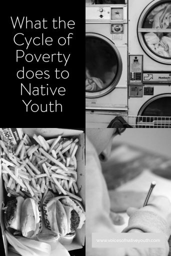 The cycle of poverty can't be changed like settings on your washing machine. Three things we all need to understand about those who live in poverty. #poverty #resiliance #nativeamerican #nativeyouth