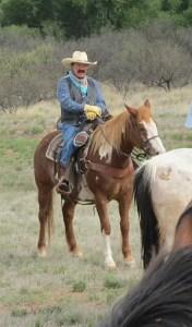 komrada on horse