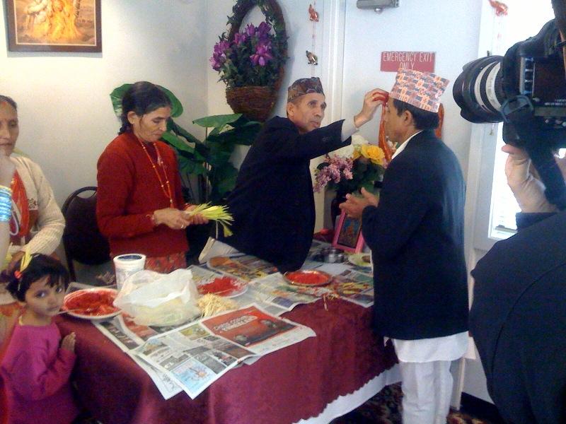Bhutanese celebration
