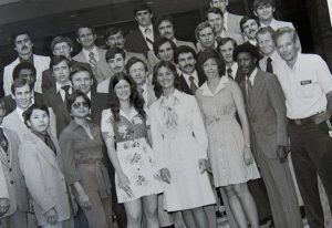 Natalie Sabin Gore (front row, 3rd from right) - one of the 1st women graduates from FBI Academy