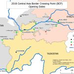 26 Routes In 2 Years The New Transport Map Of Central Asia Voices On Cental Asia