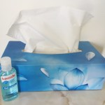 vocal health tissues hand santiser hygiene