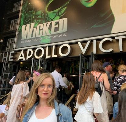 Wicked Apollo Victoria West End Georgia Gray