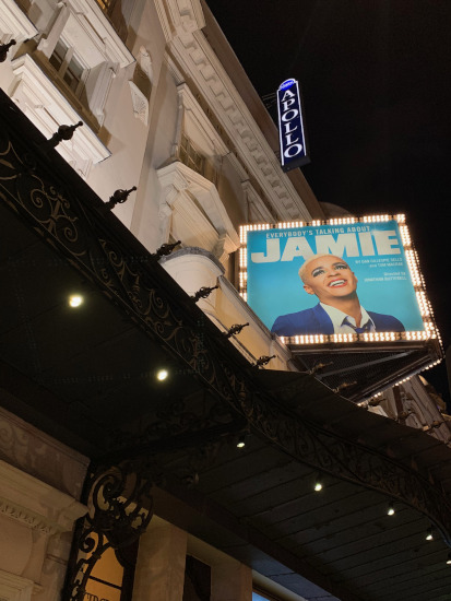 Jamie Musical Apollo Theatre