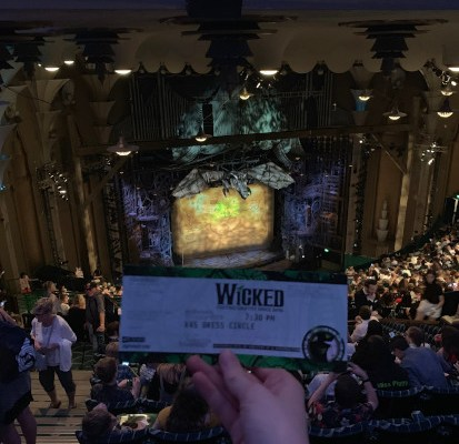 Wicked West End Stage Set