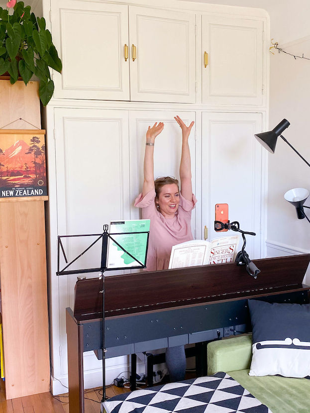Georgia Gray Singing Teacher