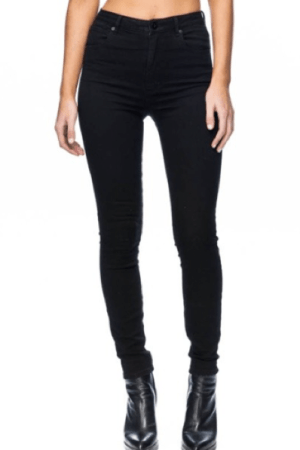 A High Skinny Black Magic Dynamic Denim