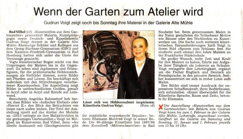 30.01.2015 Wetterauer Zeitung