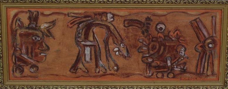 Geburt des Atzelotl (Maya)