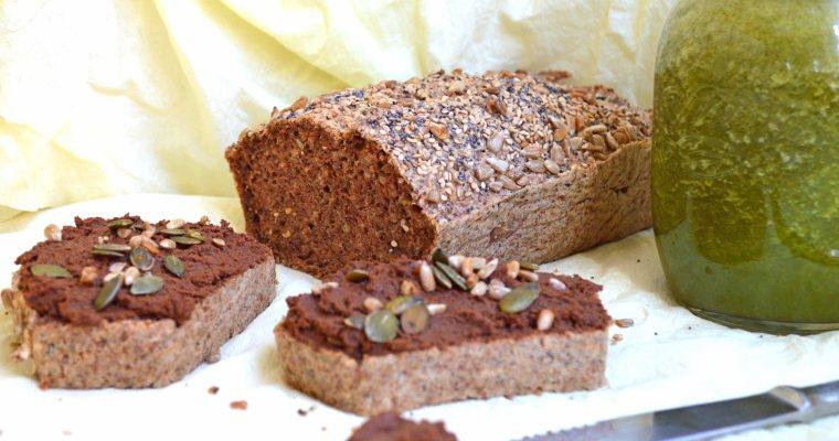 Pan de trigo sarraceno sin harinas