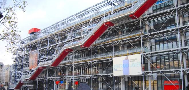 centro pompidou parís