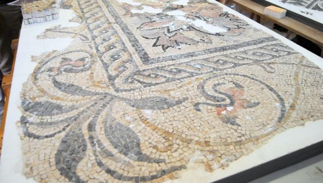 mosaico romano restaurado museo málaga