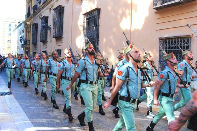 Holy Thursday malaga legion