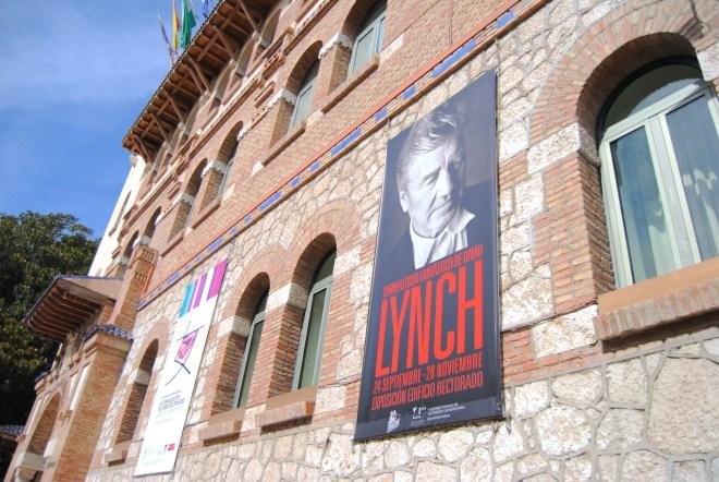 exhibition david lynch rector office malaga