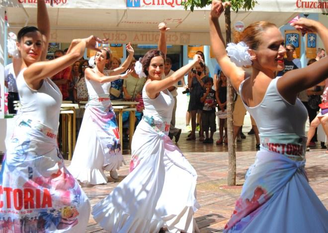 city center malaga fair flamenco