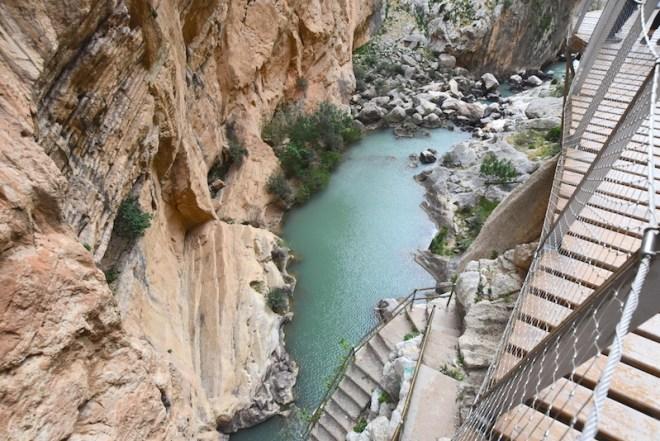 Desfiladero de las palomas excursión de un día desde Málaga