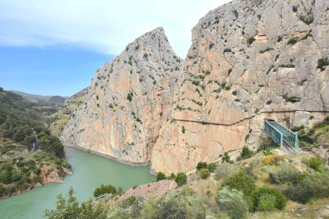 Caminito del rey exit excursions from Malaga dam