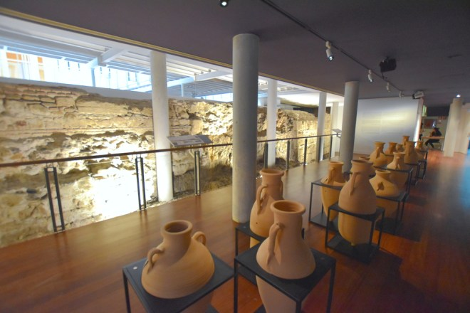amphoras exhibition hall malaga university